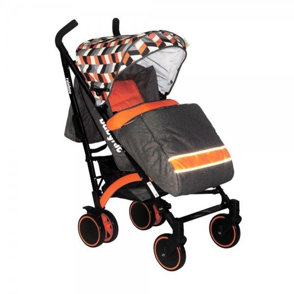 Коляска трость BabyHit Rainbow (D200) - Orange Diamond